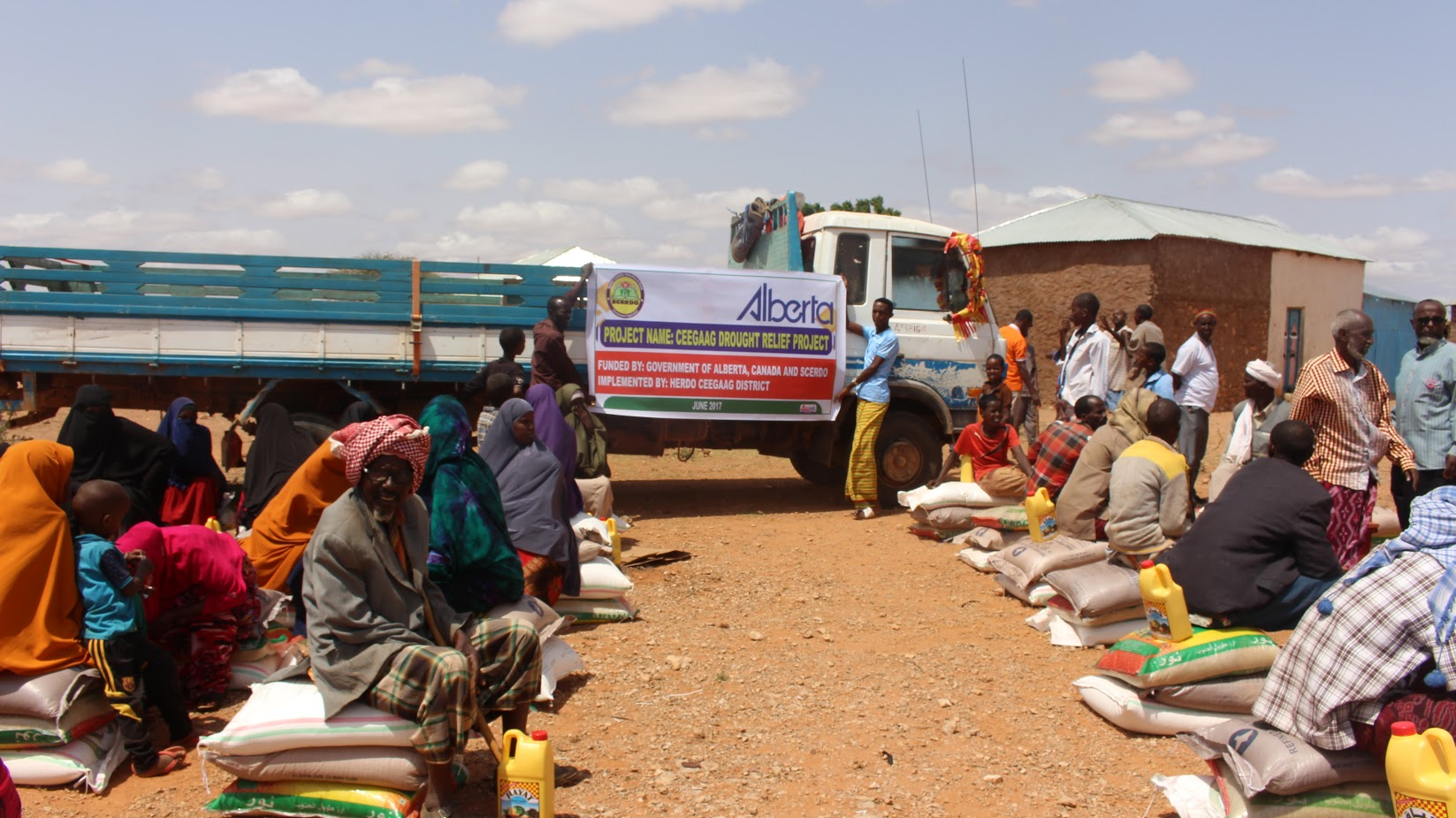 Drought Relief Project in Somalia