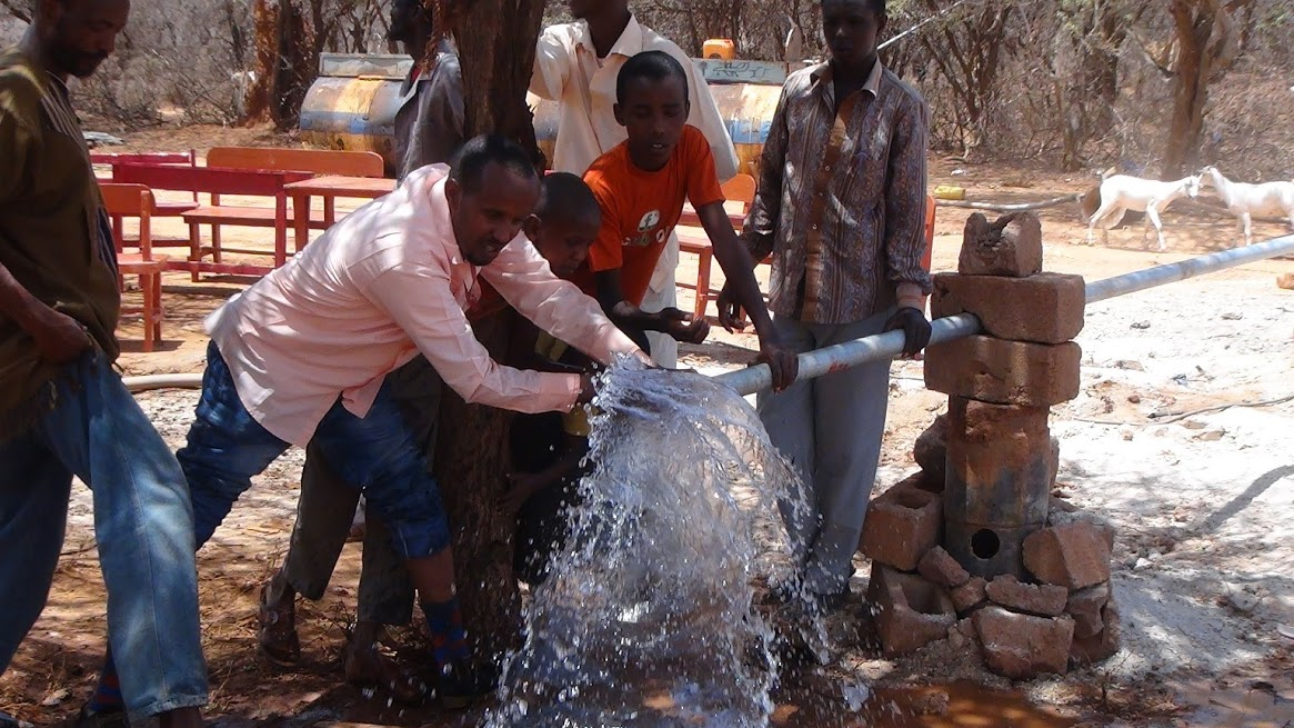 Ceegaag Water Project in Somalia.